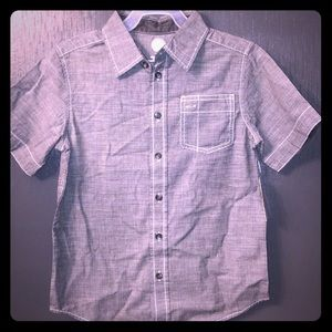 NEW Boys Wonder Nation Button Down Top Medium 8